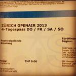 Zürich Openair 2013