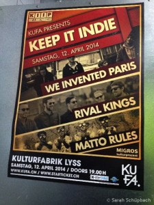Keep it indie @ Kufa Lyss
