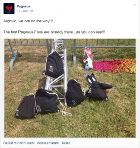 Pegasus Bags @ Argoviafäscht